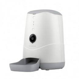 Distributore automatico di alimenti Petoneer per animali domestici con videocamera incorporata