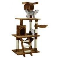 Tiragraffi per gatti di elevata qualità con peluche e sisal resistente